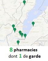 Nos pharmacies de Genève et Chavannes - 1 pharmacie de garde à Genève